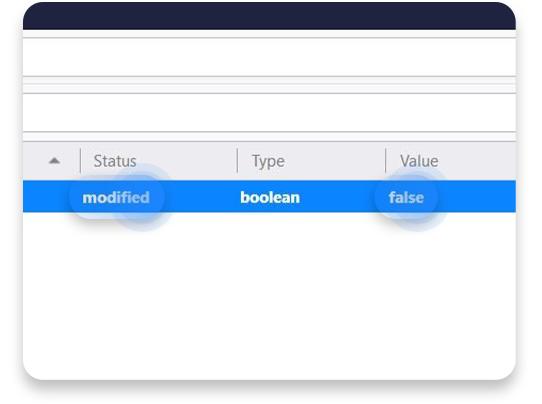inaktiverar WebRTC i Firefox: steg 3