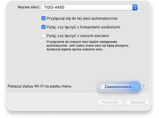 jak sprawdzić adres IP routera w systemie macOS X: krok 3