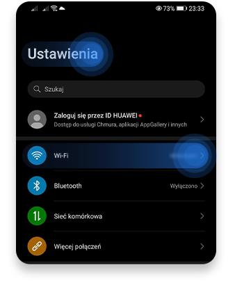 jak sprawdzić adres IP routera na Androidzie: krok 1