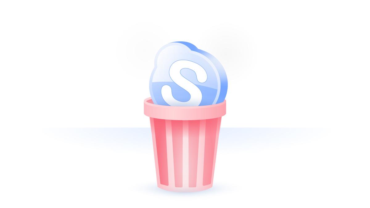 Cómo eliminar la cuenta de Skype