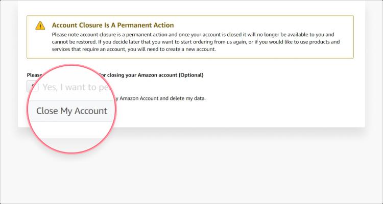 Delete Amazon