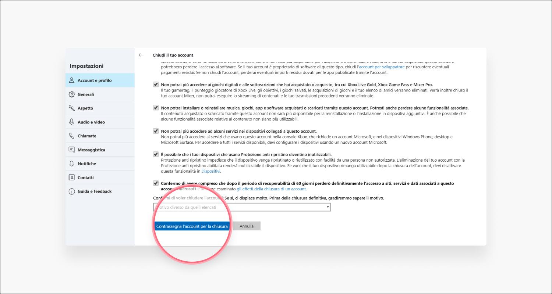 Come Eliminare Il Proprio Account Skype Nordvpn